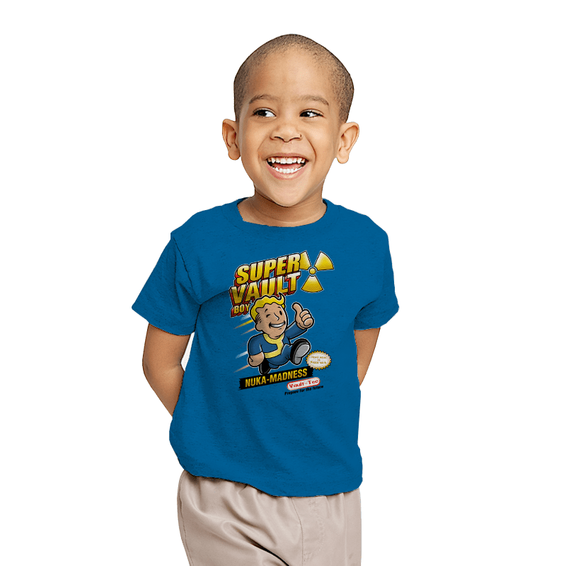 Super Vault Boy - Youth - T-Shirts - RIPT Apparel