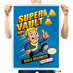 Super Vault Boy - Prints - Posters - RIPT Apparel