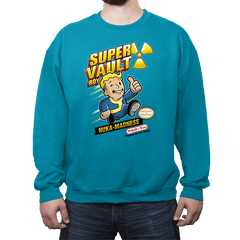 Super Vault Boy - Crew Neck - Crew Neck - RIPT Apparel