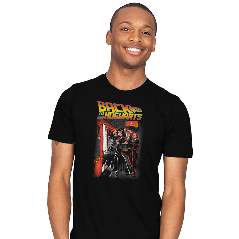Back To Hogwarts - Mens - T-Shirts - RIPT Apparel