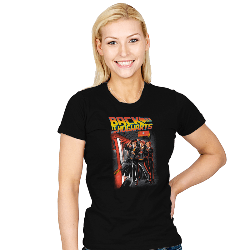 Back To Hogwarts - Womens - T-Shirts - RIPT Apparel