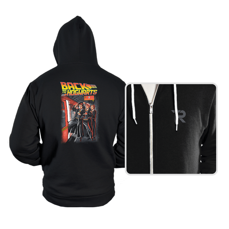 Back To Hogwarts - Hoodies - Hoodies - RIPT Apparel