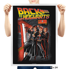 Back To Hogwarts - Prints - Posters - RIPT Apparel