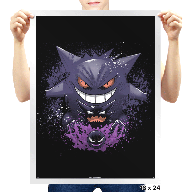 Ghost Evolution - Prints - Posters - RIPT Apparel