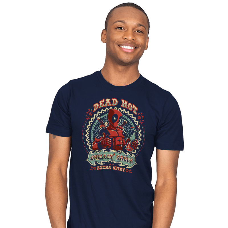Dead Hot Chillin' Sauce - Mens - T-Shirts - RIPT Apparel