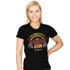 Hulkbuster's Gym - Womens - T-Shirts - RIPT Apparel
