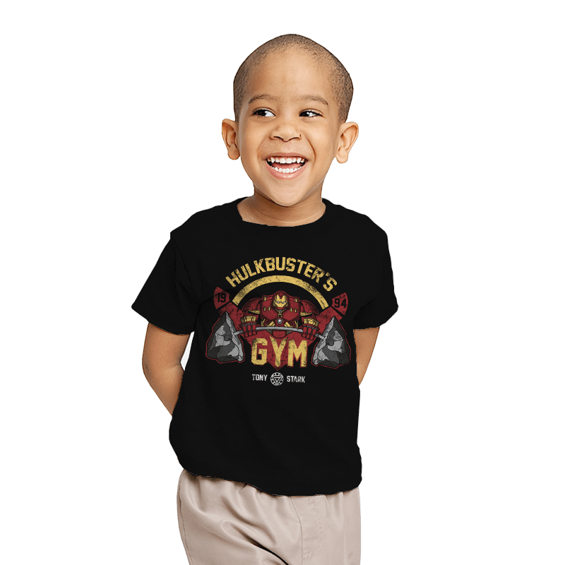 Hulkbuster's Gym - Youth - T-Shirts - RIPT Apparel