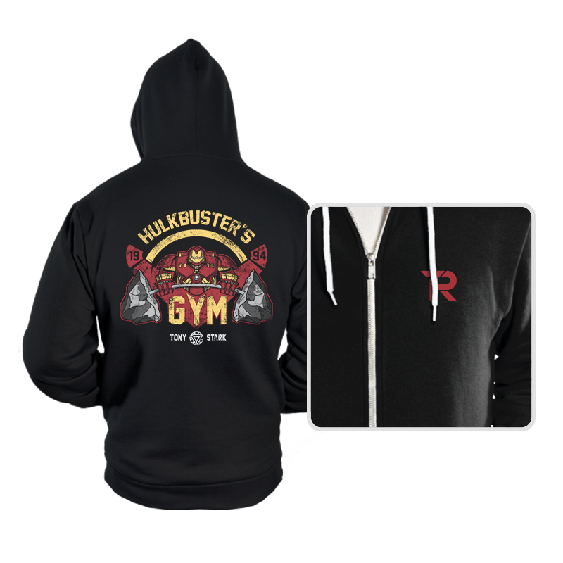 Hulkbuster's Gym - Hoodies - Hoodies - RIPT Apparel