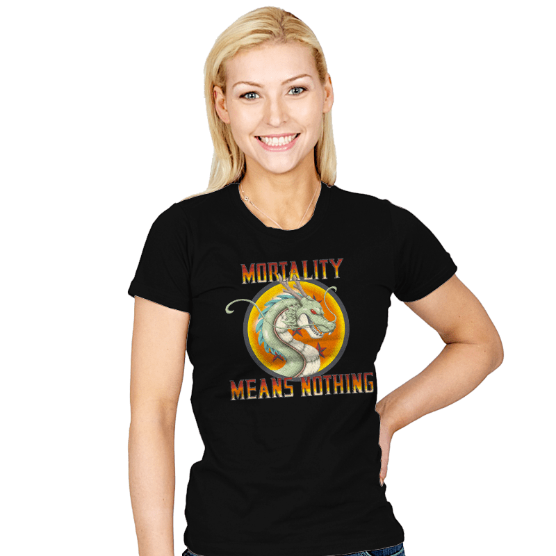 Mortality Means Nothing - Womens - T-Shirts - RIPT Apparel