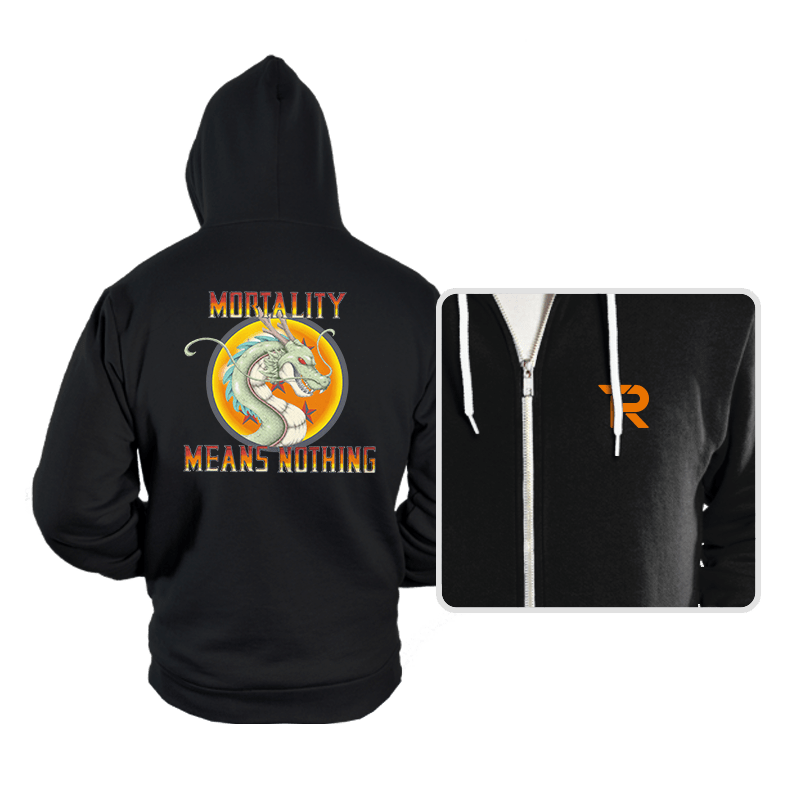 Mortality Means Nothing - Hoodies - Hoodies - RIPT Apparel