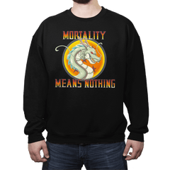 Mortality Means Nothing - Crew Neck - Crew Neck - RIPT Apparel