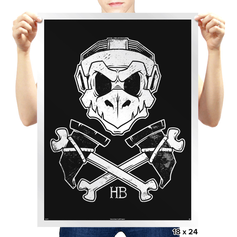 The Hammer Brotherhood  - Prints - Posters - RIPT Apparel