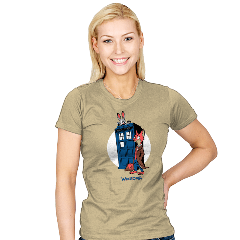 Whotopia - Womens - T-Shirts - RIPT Apparel