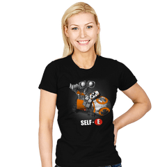 Self- E - Womens - T-Shirts - RIPT Apparel
