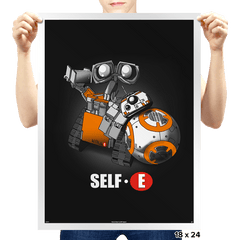 Self- E - Prints - Posters - RIPT Apparel