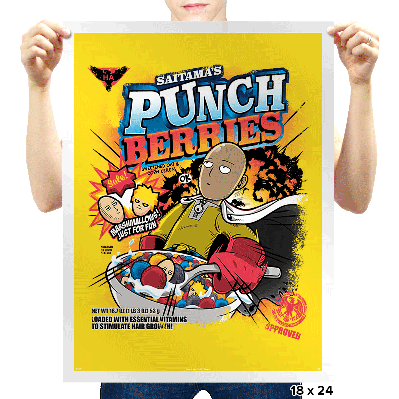 Punch Berries - Prints - Posters - RIPT Apparel