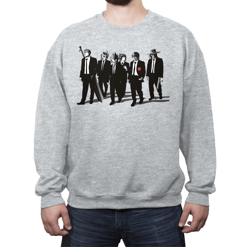 Anime Bad Dogs - Crew Neck - Crew Neck - RIPT Apparel