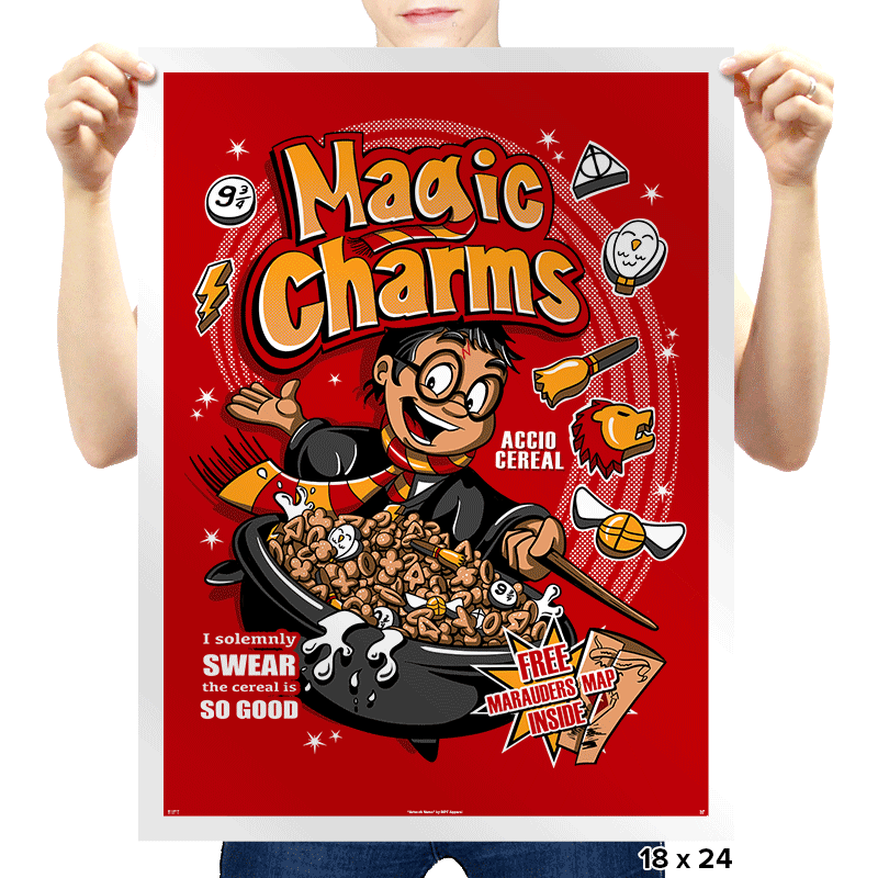 Magic Charms - Prints - Posters - RIPT Apparel