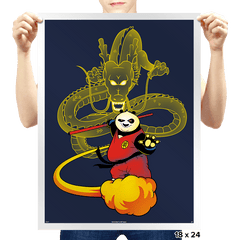 Dragon Warrior - Prints - Posters - RIPT Apparel
