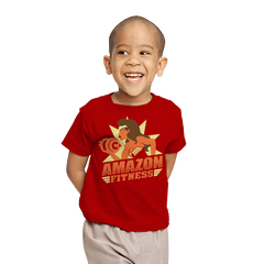 Amazon Fitness - Youth - T-Shirts - RIPT Apparel