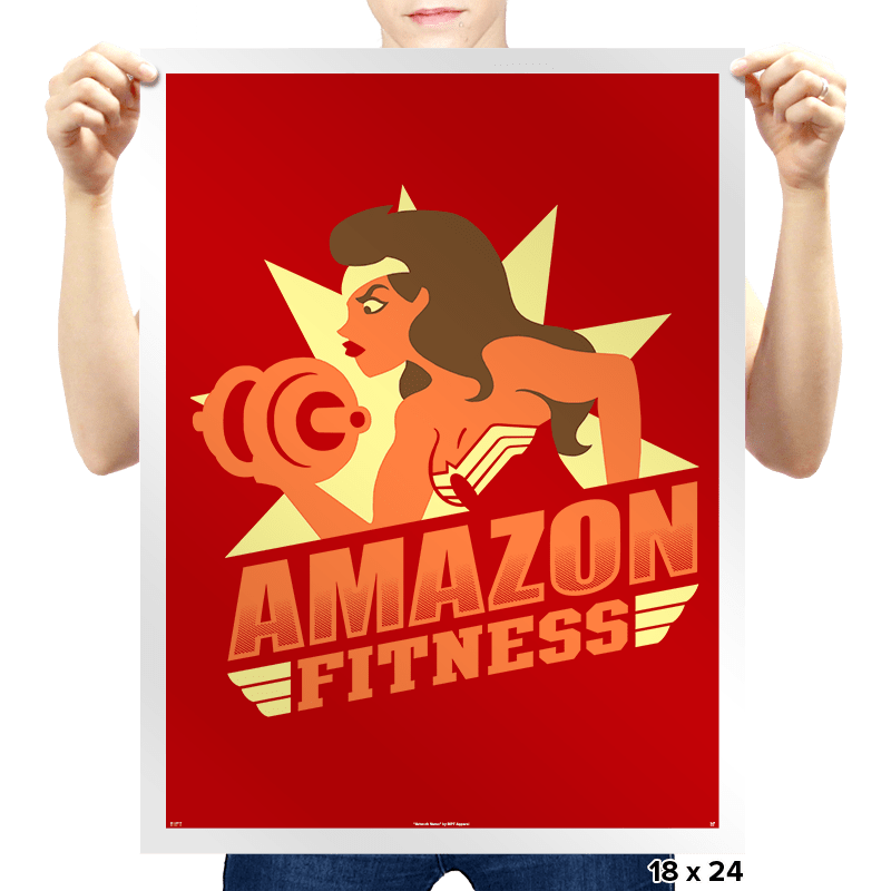 Amazon Fitness - Prints - Posters - RIPT Apparel
