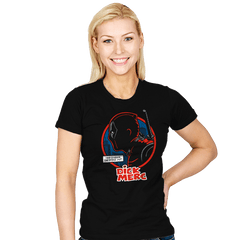 Dick Merc Logo - Womens - T-Shirts - RIPT Apparel