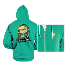 Dear World, I'm Not Zelda - Hoodies - Hoodies - RIPT Apparel