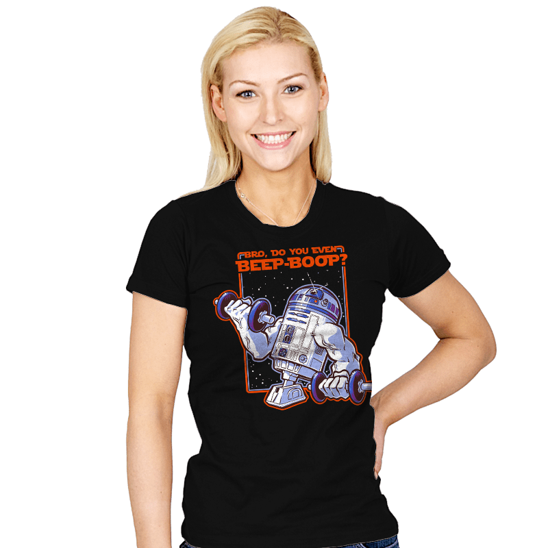 Bro, Do You Even Beep-Boop? - Womens - T-Shirts - RIPT Apparel