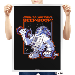 Bro, Do You Even Beep-Boop? - Prints - Posters - RIPT Apparel