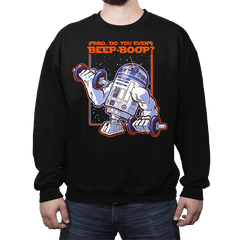 Bro, Do You Even Beep-Boop? - Crew Neck - Crew Neck - RIPT Apparel