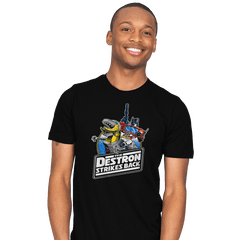 The Destron Strikes Back - Mens - T-Shirts - RIPT Apparel