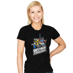 The Destron Strikes Back - Womens - T-Shirts - RIPT Apparel