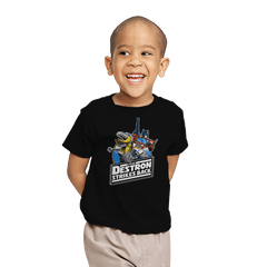 The Destron Strikes Back - Youth - T-Shirts - RIPT Apparel