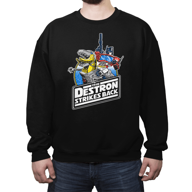 The Destron Strikes Back - Crew Neck - Crew Neck - RIPT Apparel