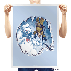 The Wampuft Marshmallow Man - Prints - Posters - RIPT Apparel