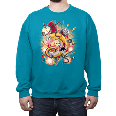 Mercenary Time - Crew Neck - Crew Neck - RIPT Apparel