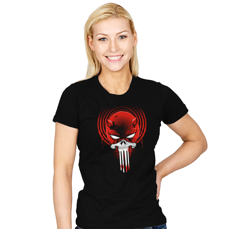 Devil Punishment - Womens - T-Shirts - RIPT Apparel