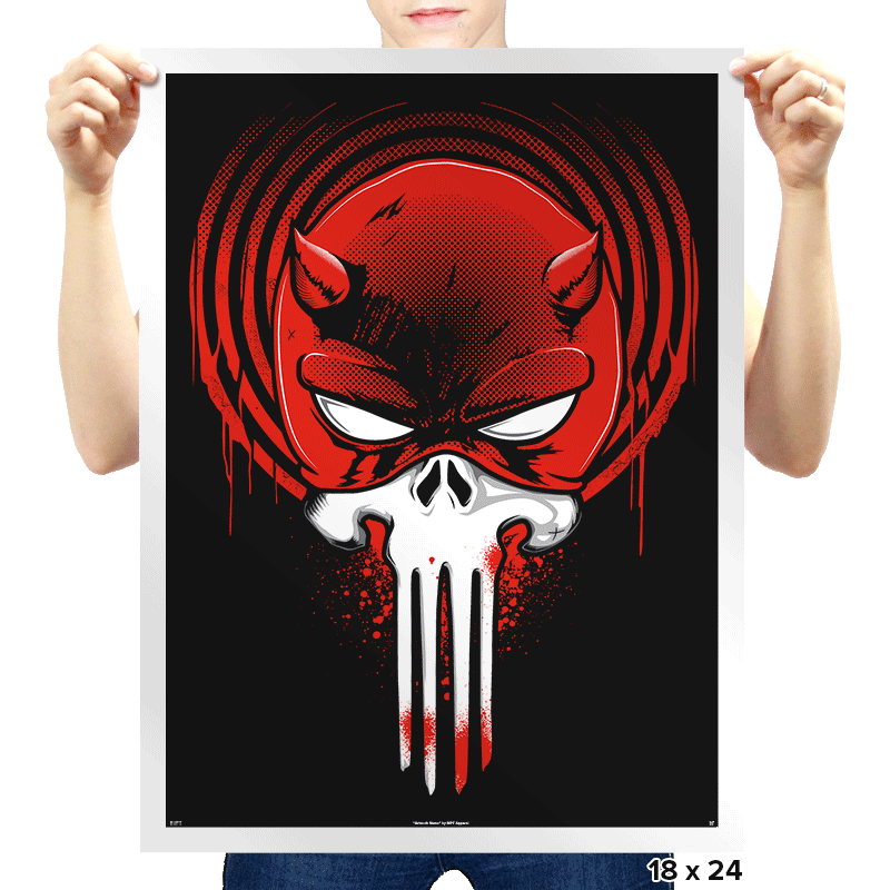 Devil Punishment - Prints - Posters - RIPT Apparel