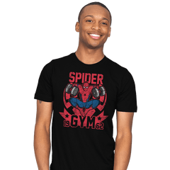 Spider Gym - Mens - T-Shirts - RIPT Apparel