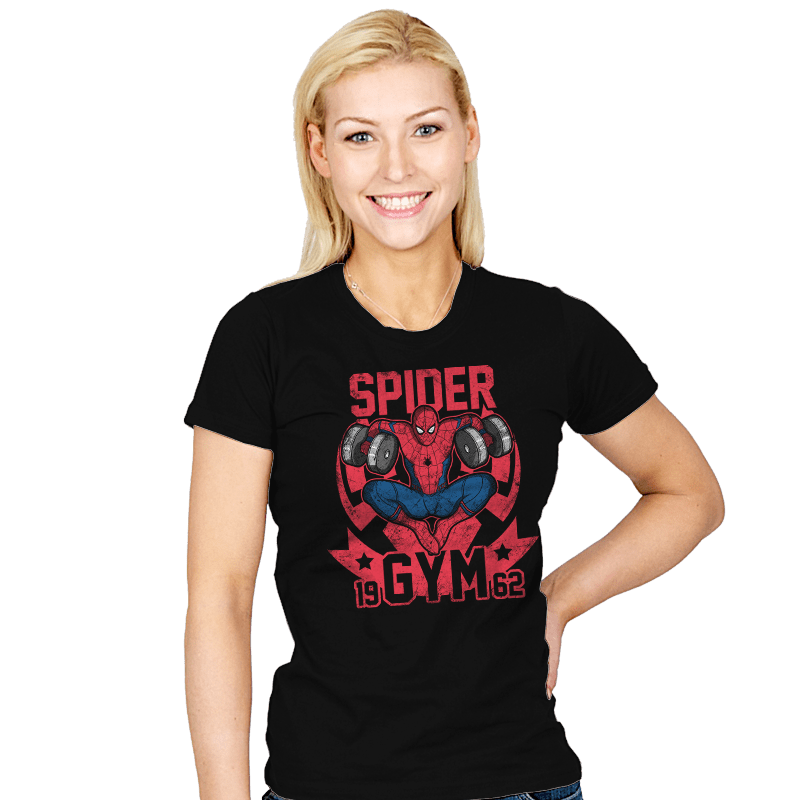 Spider Gym - Womens - T-Shirts - RIPT Apparel