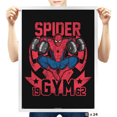 Spider Gym - Prints - Posters - RIPT Apparel