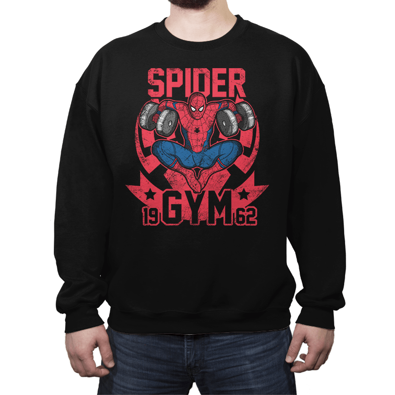 Spider Gym - Crew Neck - Crew Neck - RIPT Apparel