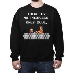 There is No Princess - Crew Neck - Crew Neck - RIPT Apparel