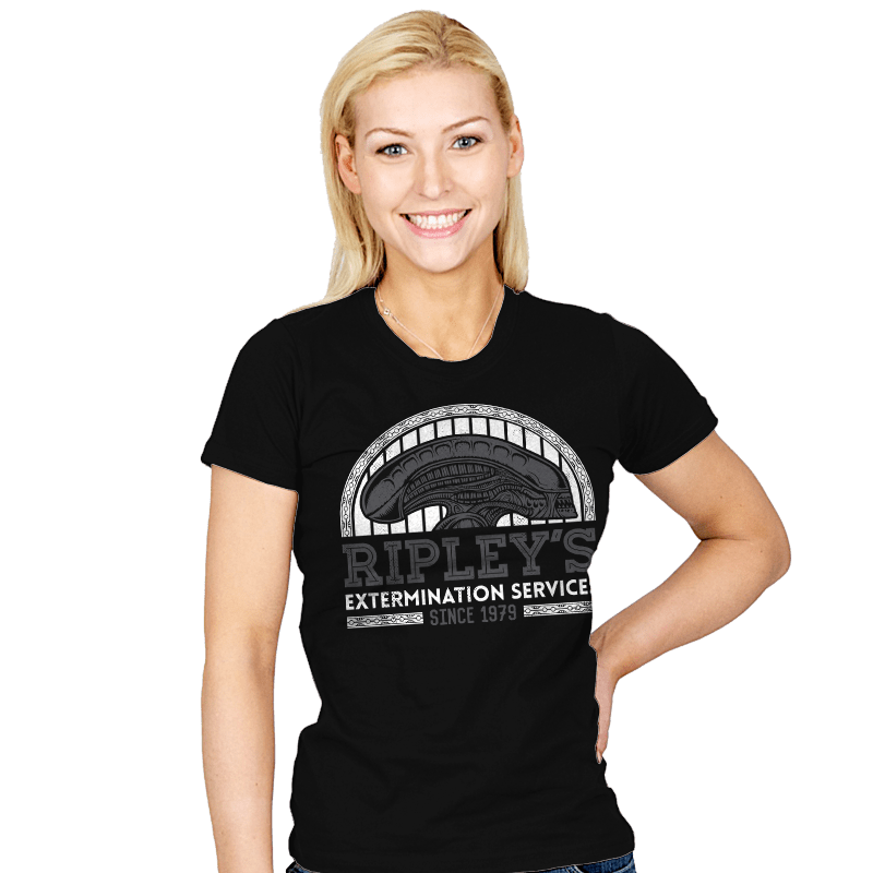 Ripley's Extermination Services - Womens - T-Shirts - RIPT Apparel