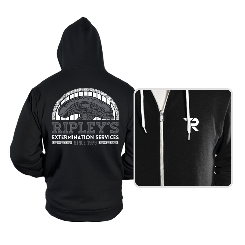 Ripley's Extermination Services - Hoodies - Hoodies - RIPT Apparel
