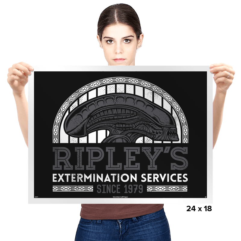 Ripley's Extermination Services - Prints - Posters - RIPT Apparel