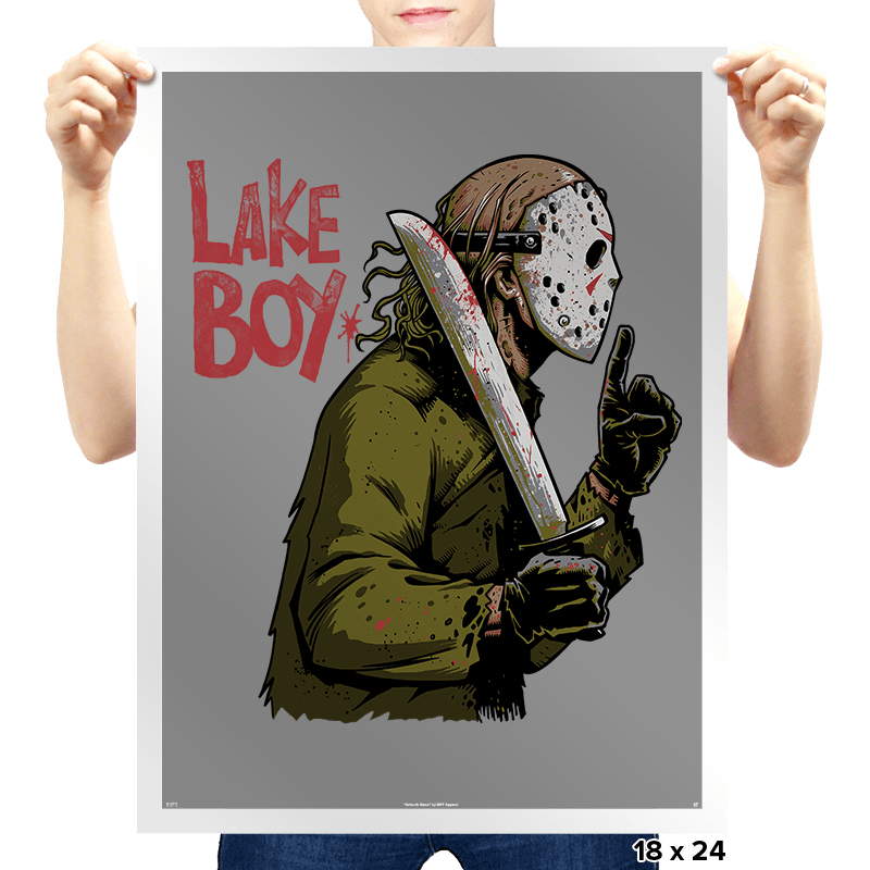 Lake Boy - Prints - Posters - RIPT Apparel