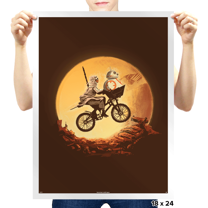Sand Rider - Prints - Posters - RIPT Apparel