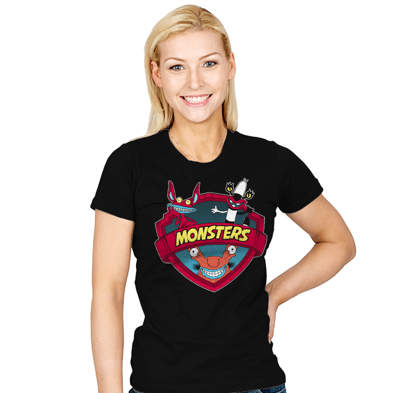 Monsters - Womens - T-Shirts - RIPT Apparel