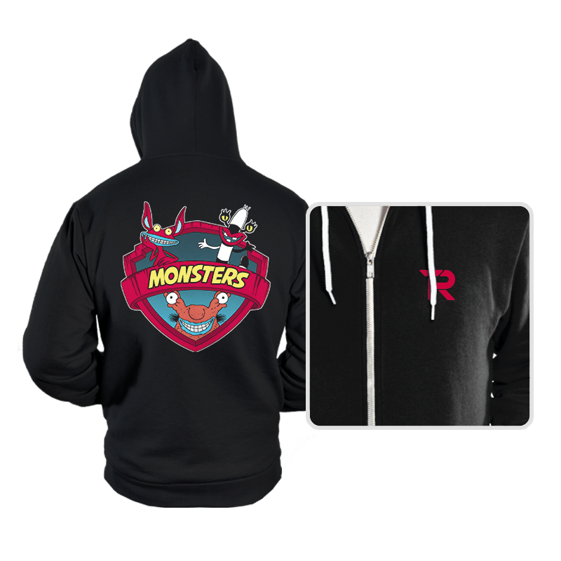Monsters - Hoodies - Hoodies - RIPT Apparel